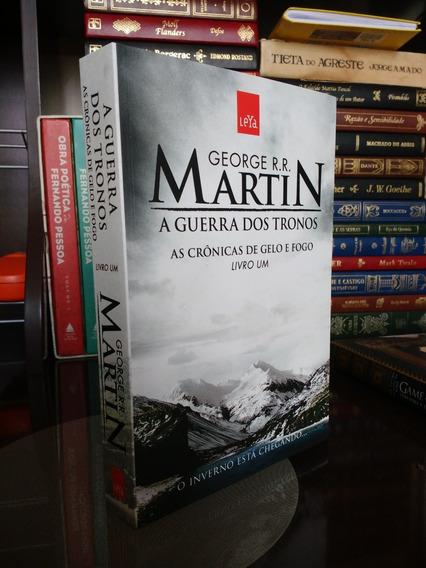 Livro Novo - Guerra Dos Tronos - Cronicas De Gelo E Fogo V.1
