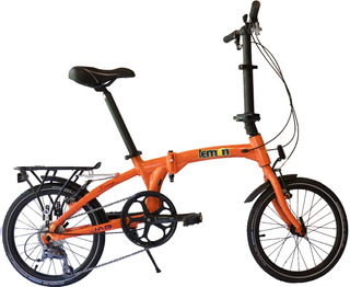 Bicicleta Lemon Bikes Color Naranja