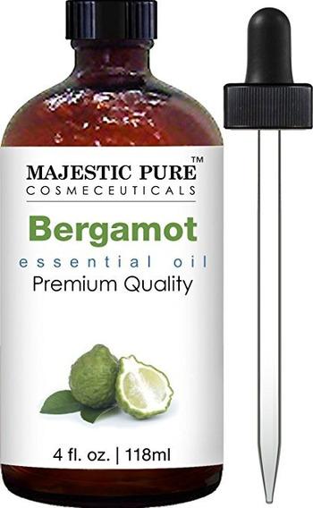 Aceites Esenciales - Bergamota 120 Ml 100% Naturales Y Puros