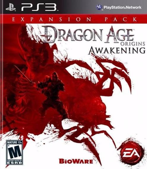 Dragon Age Origins Awakening Ps3 Mídia Física Semi Novo