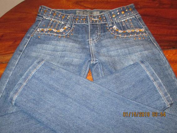 Pantalon Jean Talla 14 Damas Adolescentes Niñas Como Nuevo