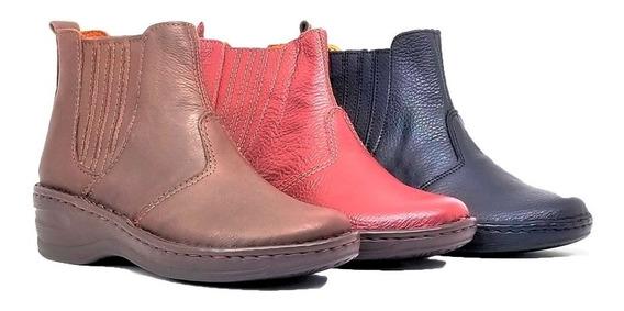 Botas Mujer Cuero Borcegos Zapatos Botitas Alicia Tibay