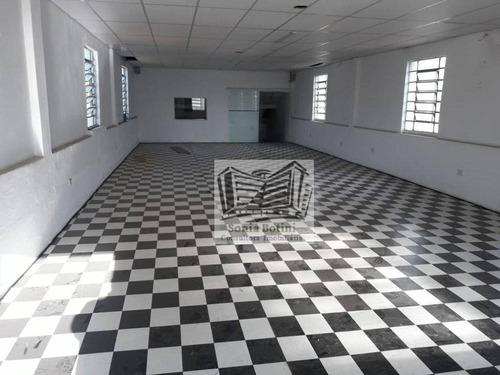 Imagem 1 de 14 de Galpão Para Alugar, 350 M² Por R$ 7.800,00/mês - Mooca - São Paulo/sp - Ga0198