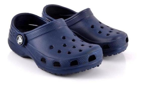 Ojotas Sandalias Crocs Azul - Sagat Deportes - Originales!