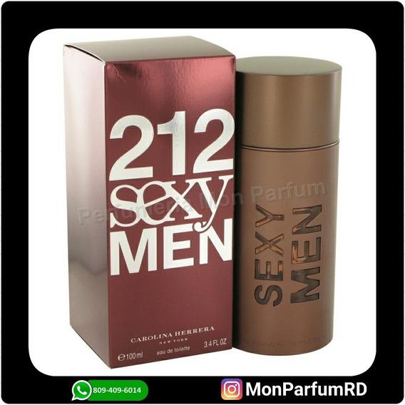 * Perfume 212 Sexy By Carolina Herrera. Entrega Inmediata *