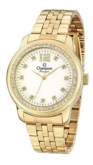 Relógio Champion Original Cn29954w Com Kit