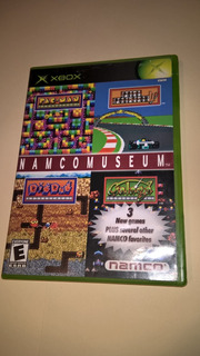 Juego Xbox Clasico Namcomuseum