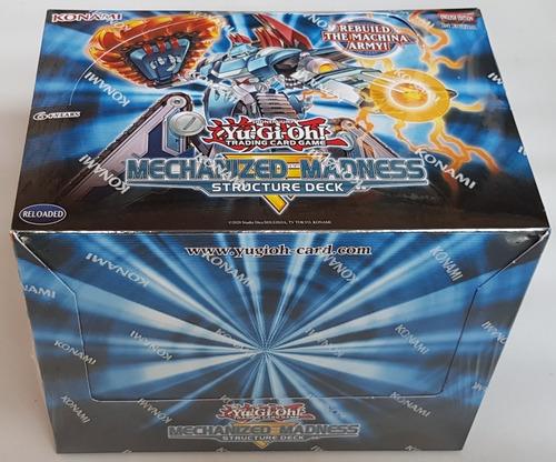 Yugioh! Yu-gi-oh! Caja 8 Decks Mechanized Madness Nueva !!!