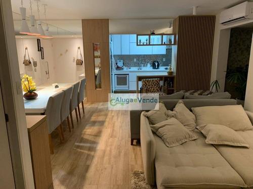 Apartamento A Venda No Condomínio Class  3 Dormitórios, 2 Suítes, Laser Completo E  2 Vagas De Garagem Na Vila Augusta Em Guarulhos - Ap0292
