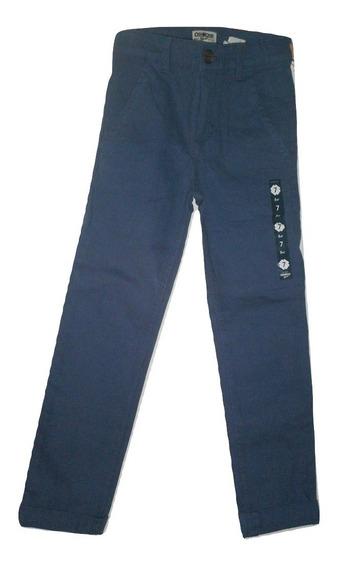 ** Pantalon Largo Oshkosh Niño Casual Vestir Talla 7 $390a