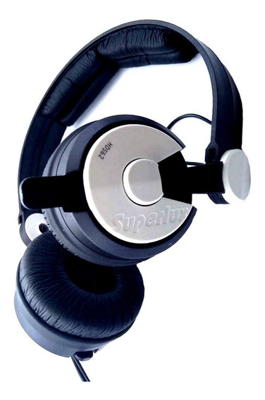 Fone Superlux Hd562 Headphone Banda Dj Retorno