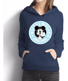 Moletom Casaco Blusa Blusâo Mickey Mouse Starbucks Disney