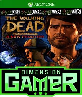 The Walking Dead A New Frontier Xbox One No Codigo Off-line