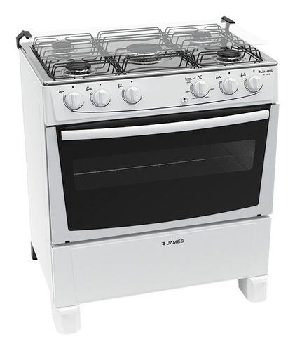 Cocina Supergas Blanca James 5 Hornallas C 150 B Yanett