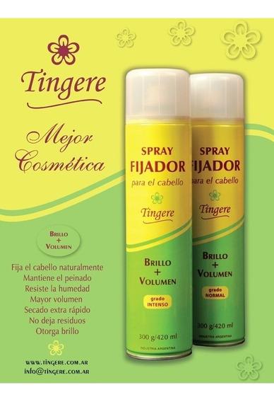 Spray Fijador Para El Cabello Tingere (intenso - Fuerte)