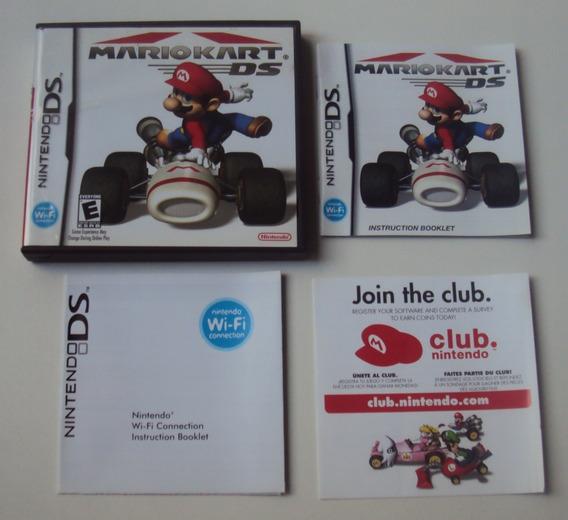 Caixa E Panfletos Originais - Mario Kart Ds