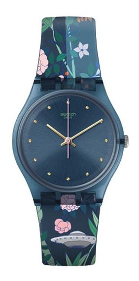 Relógio Swatch Ovni Garden - Gn258