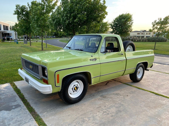 Chevrolet C10 1974 - Unica!!!! Lista Para Disfrutar