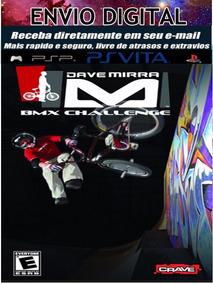 Dave Mirra Bmx Challenge Psp E Vita-destravado
