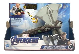 Stormbreaker Hacha De Thor Con Sonido Avengers Hasbro