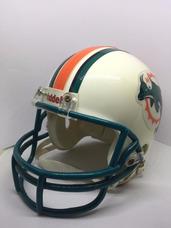 0f6f28b999c27 Mini Capacete De Futebol Americano Do Miami Dolphins Novo!