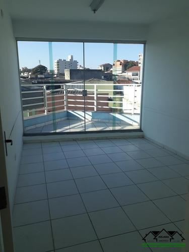 Sala Comercial Com 12,6 Mt² Em - Santa Terezinha -  Santo André/sp - Abcm0016