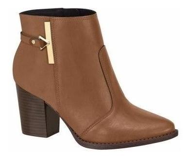 Ankle Boots Bota Salto Grosso Beira Rio 9042315 Promoção