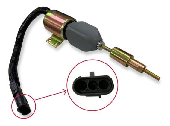 Valvula Solenoide Corte Combustivel Volks Mwm 12v 2t0130764