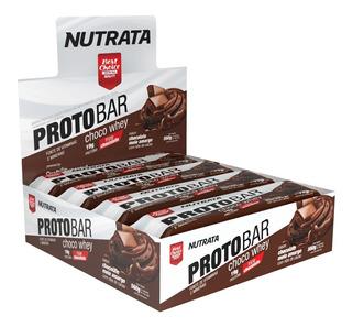 3x Protobar - Barra De Proteína (cx 8 Un) Nutrata