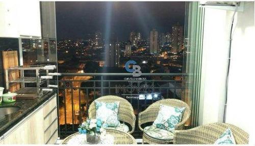 Imagem 1 de 19 de Apartamento Residencial À Venda, Anália Franco, São Paulo. - Ap4046