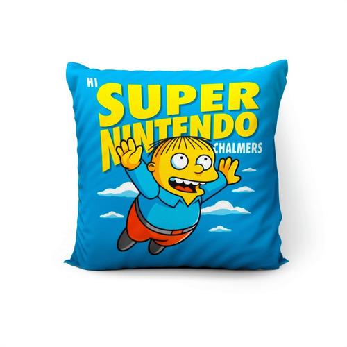 Cojín Ralph Super Nintendo Chalmers 45x45cm Vudú Love