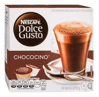 Tec-fl Electro-cocina - Cápsula Chococino Marca Dolce Gusto