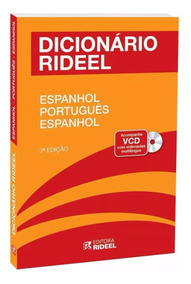 Dicionário Rideel Espanhol Português Espanhol - Frete 10,00