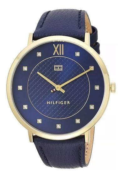 Relógio Tommy Hilfiger Feminino Couro Azul - 1781807