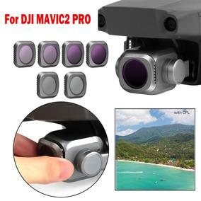 Filtro Lente Polarizador - Kit C/ 6 Dji Mavic 2 Pro + Estojo