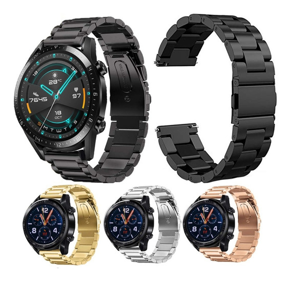 Extensible Correa De Acero Inoxidable Huawei Watch Gt 2 46mm