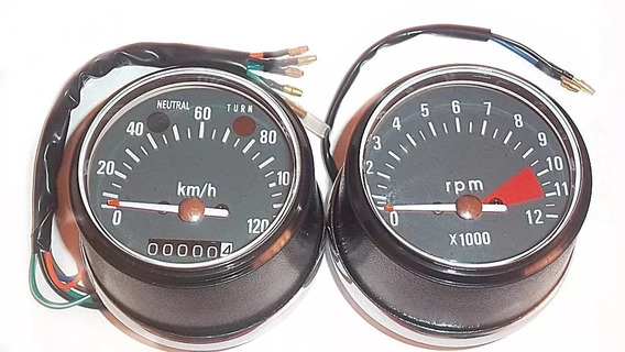 Painel Cg 125 Bolinha 77 A 82 Ml 125 Velocímetro + Tacômetro