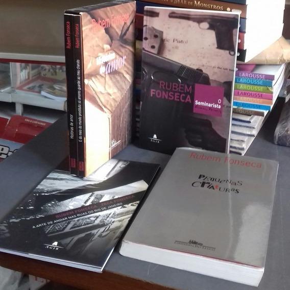 Pacote Rubem Fonseca C/ 5 Livros