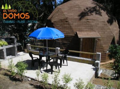 Domos En El Tabo, Campo-playa-piscina Www.domoseltabo.cl