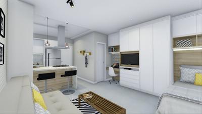 Apartamento Em Trindade, Florianópolis/sc De 30m² 1 Quartos Para Locação R$ 185.000,00/mes - Ap105101
