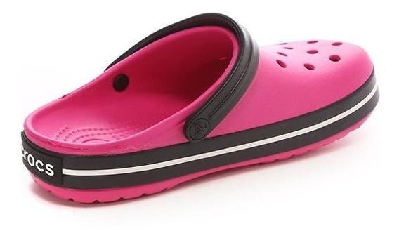 Crocs Crocband Mujer Candy Pink Black