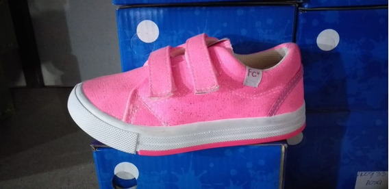 Zapatillas De Lona Fabce 4005 Abrojo Niñas Oferta