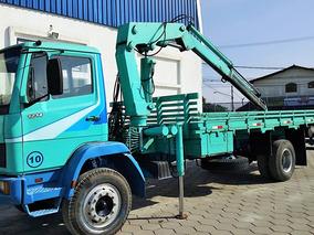 Caminhão Mercedes-benz Mb 1214 Munck Hg 12000 Lh Cap 6 Tons
