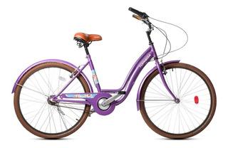 Bicicleta R26 Paseo Dama 3vel Shimano Topmega Flower Vintage