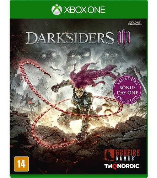 Darksiders 3 ( Day One ) - Xbox One - Novo - Mídia Física