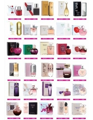 10 Perfumes De Bolsa Miniatura Brand Collection Edp 25 Ml
