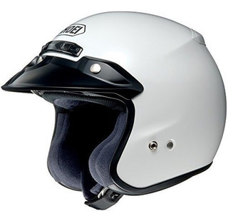 Shoei Rj Platinum-r 3/4 Casco Mediano Blanco