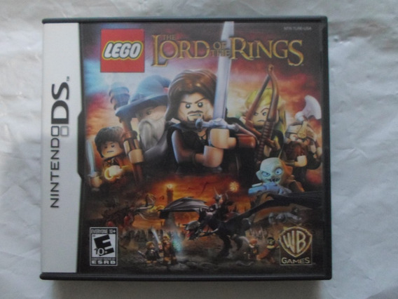 Lego The Lord Of The Rings Original Completo P/ Nintendo Ds