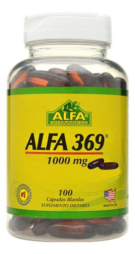 Alfa Vitamins Omega 369 X 100 Capsulas