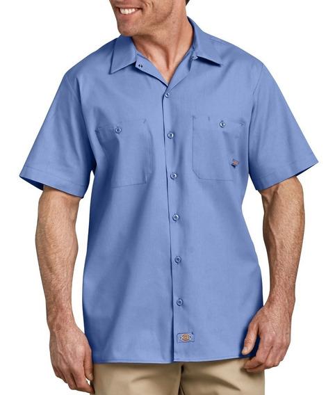 Dickies Ls535 Camisa Camisola Trabajo Ligera Manga Corta